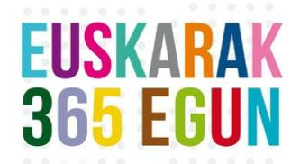 EUSKARAK 365 EGUN, Euskara hizpide