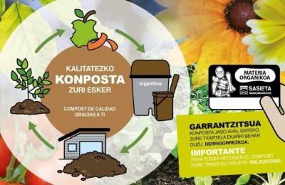 Nueva campaña 'Compost de calidad gracias a ti'