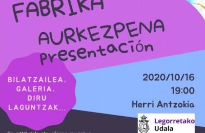 """""""Arteria""""-ren aurkezpena, bihar Herri Antzokian"""