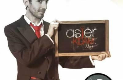 Espectáculo de magia de Asier Kidam, el sábado