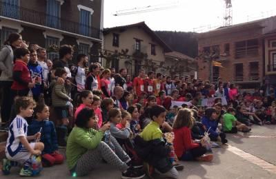 Ekhi Zugasti eta June Sanz izan dira San Silvestre kroseko irabazleak