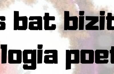 'Blues bat bizitzari' liburuaren aurkezpena eta poesia errezitaldia ostiralean